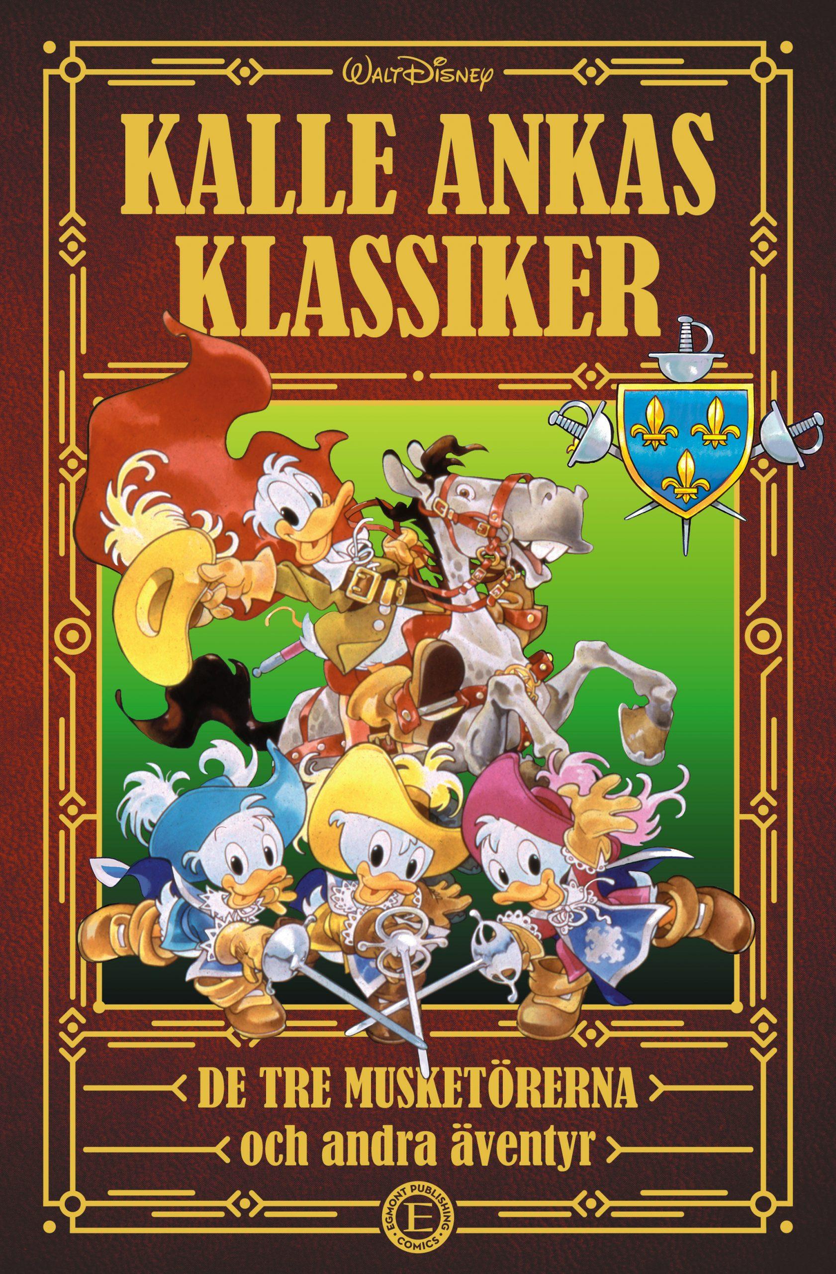 Kalle Ankas Klassiker 2: De tre musketörerna
