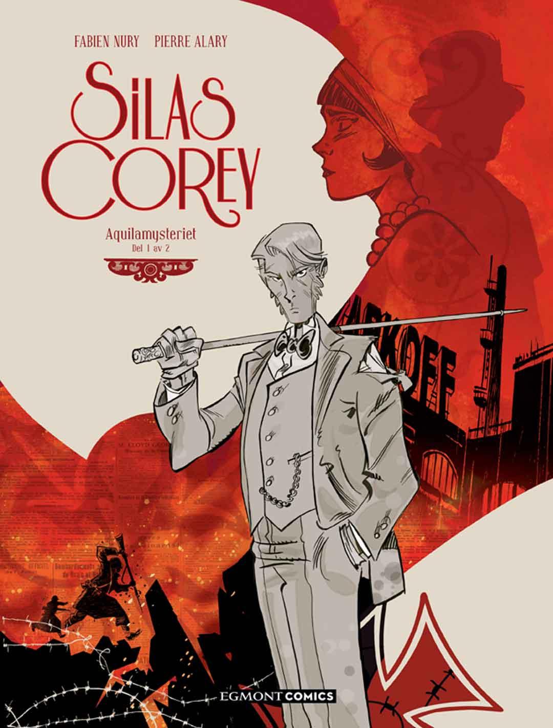Silas Corey: Aquilamysteriet – del 1