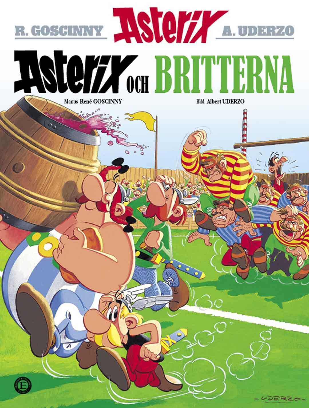 Asterix 5: Asterix och britterna