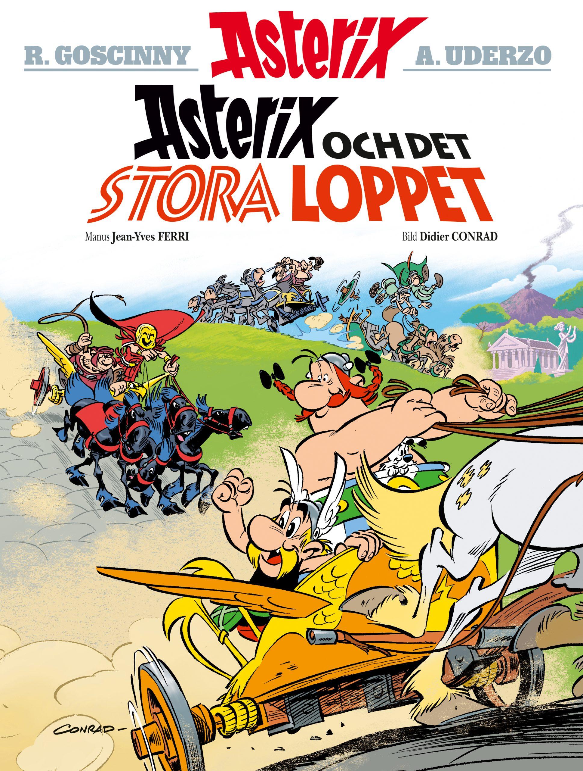 Asterix 37: Asterix och det stora loppet