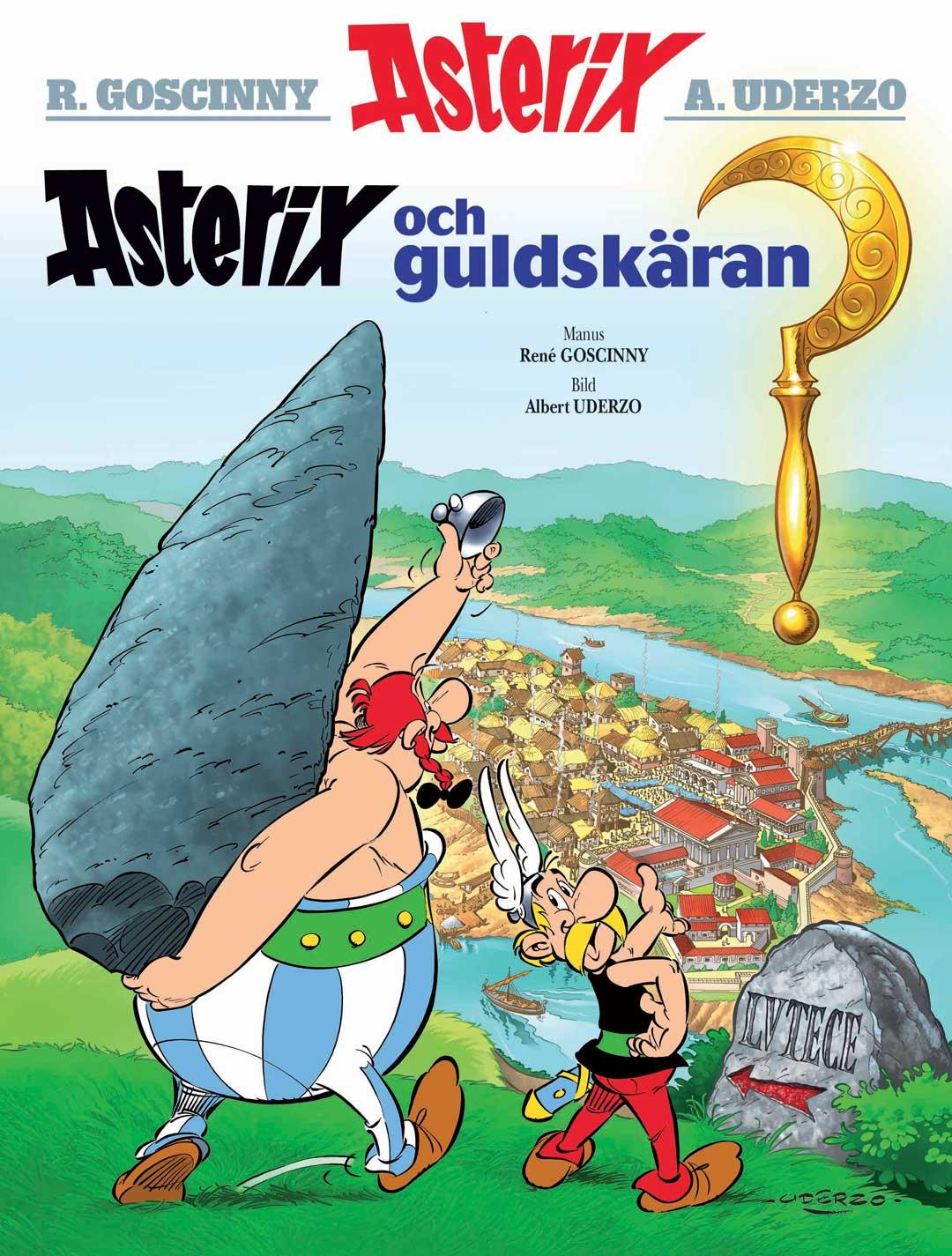 Asterix 10: Asterix och guldskäran