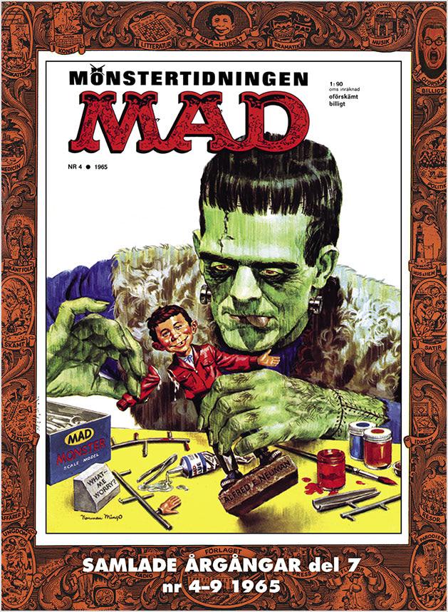MAD bok 7 – nr 4-9 1965