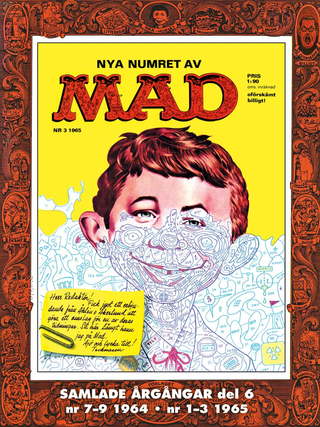 MAD bok 6 - årgång 1964-1965