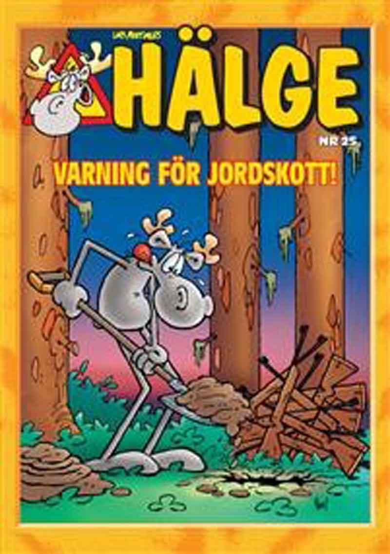 Hälge Julalbum 25: Varning för jordskott!